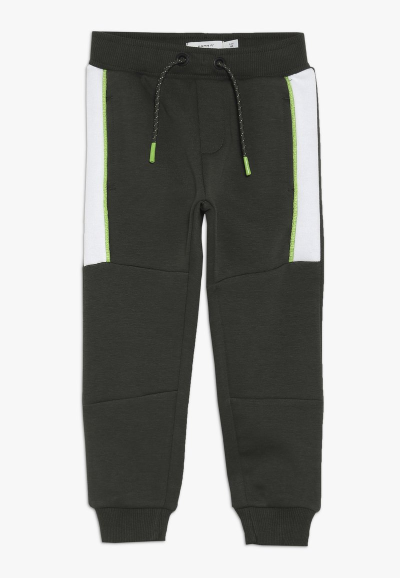 Name it - NMMKOVER PANT - Pantalones deportivos - forest night