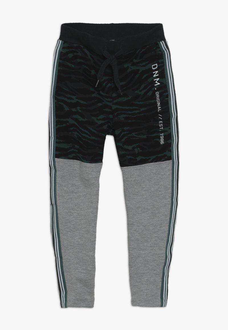 Name it - NKMLIVAN PANT - Træningsbukser - grey melange