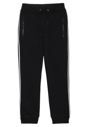NKMHONK PANT TAPE - Pantalon de survêtement - black