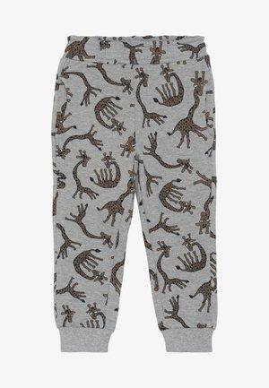 NMMLUIO PANT - Pantalon classique - grey melange