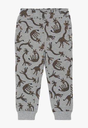 NMMLUIO PANT - Trousers - grey melange