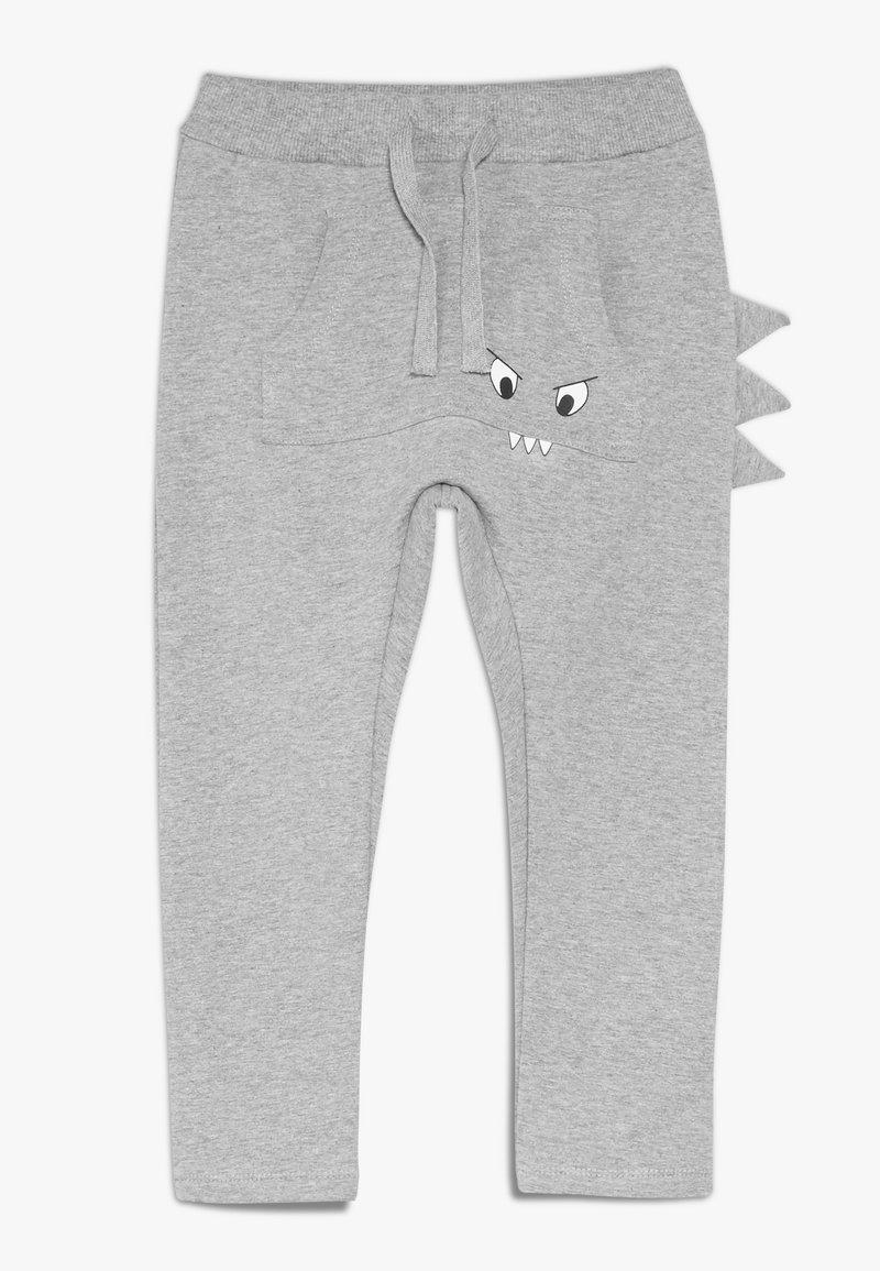 Name it - NMMNIDINO PANT  - Jogginghose - grey melange
