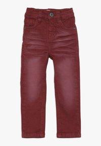 Name it - NMMTHEO TWICASPER PANT - Straight leg jeans - cabernet - 0