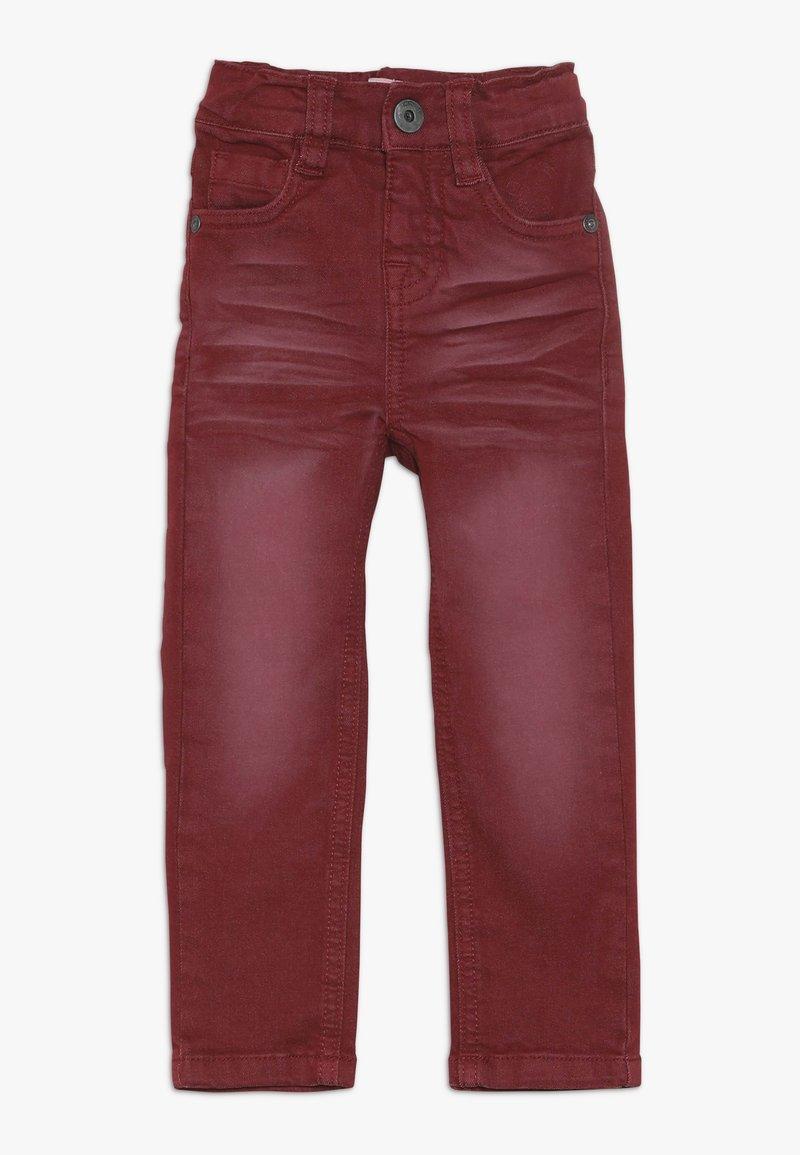 Name it - NMMTHEO TWICASPER PANT - Straight leg jeans - cabernet