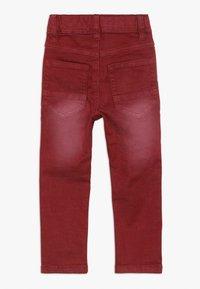 Name it - NMMTHEO TWICASPER PANT - Straight leg jeans - cabernet - 1