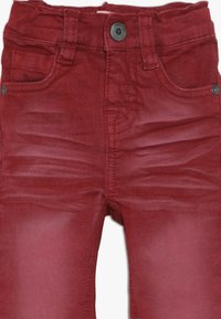 Name it - NMMTHEO TWICASPER PANT - Straight leg jeans - cabernet - 3