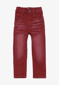 Name it - NMMTHEO TWICASPER PANT - Straight leg jeans - cabernet - 2
