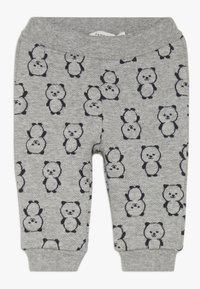 Name it - NBMSOMIL PANT - Trousers - grey melange - 0