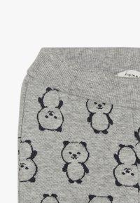 Name it - NBMSOMIL PANT - Trousers - grey melange - 3
