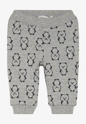 NBMSOMIL PANT - Trousers - grey melange
