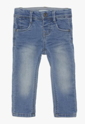 NMMROBIN DNMTOBO PANT - Straight leg jeans - light blue denim