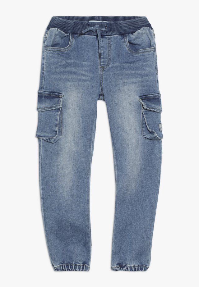 NMMBOB  - Pantalon cargo - light blue denim