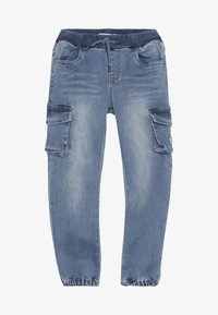 Name it - NMMBOB  - Kapsáče - light blue denim - 3