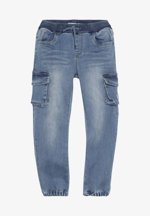 NMMBOB  - Pantalon cargo - light blue denim