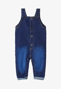 Name it - Tuinbroek - dark blue denim - 0
