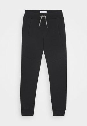 NKMOLEVAN UNB - Teplákové kalhoty - black