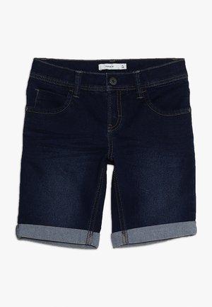 NKMRYAN DNMBANCE LONG  - Shorts di jeans - dark blue denim