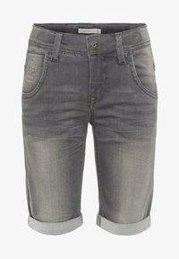 Name it - Jeansshort - medium grey denim - 0