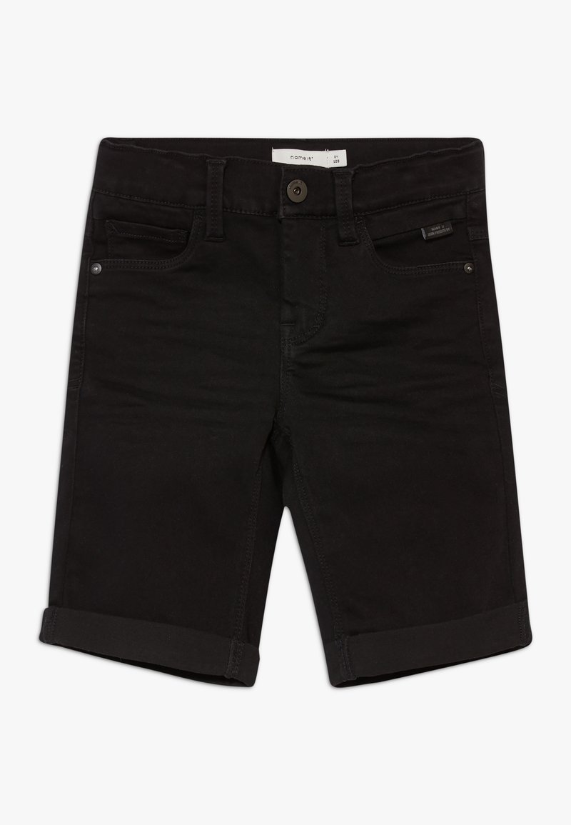 Name it - NKMSOFUS  - Szorty jeansowe - black denim