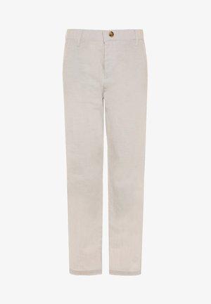 NKMFALCON PANT - Pantaloni - white pepper