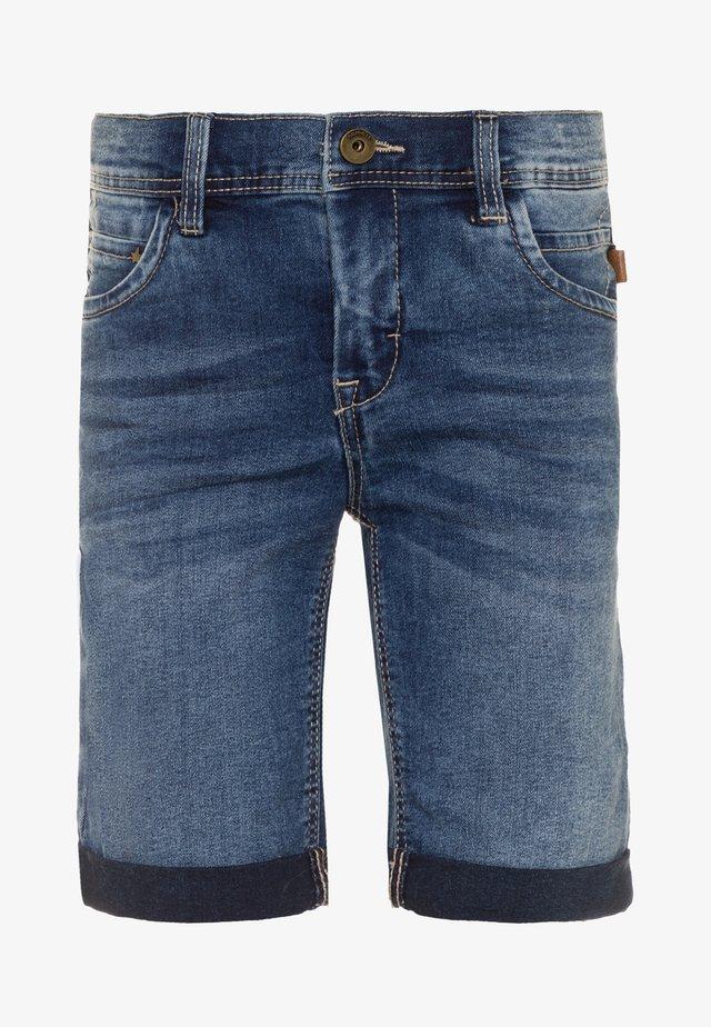NKMSOFUS - Denim shorts - medium blue denim
