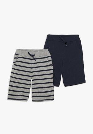 NKMVILLUS 2 PACK - Teplákové kalhoty - grey melange