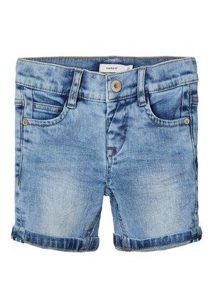 JEANSSHORTS SLIM FIT - Jeansshort - light blue denim