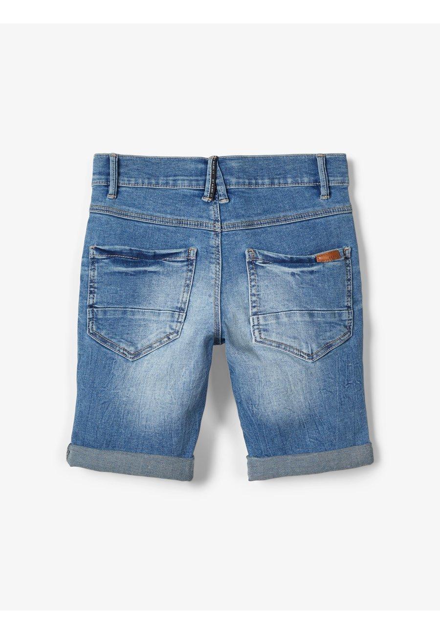 Shorts vaqueros medium blue denim