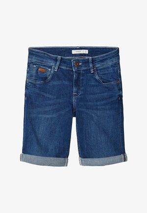 Jeansshort - dark blue denim