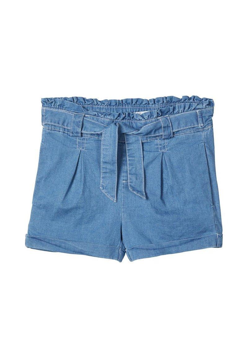 Name it - Jeansshort - medium blue denim