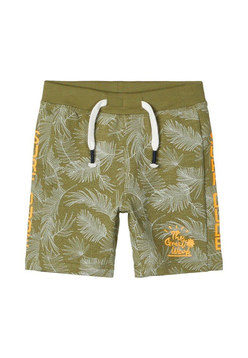 Name it - BLATT - Shorts - loden green