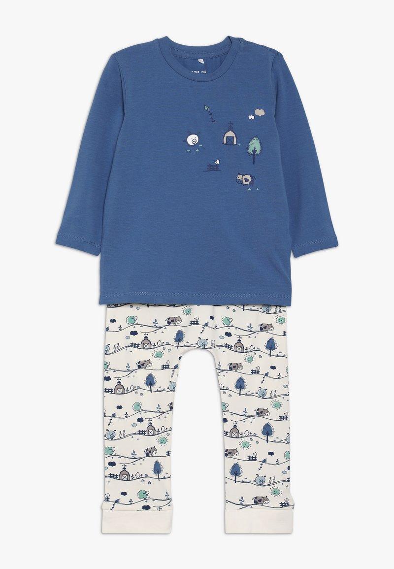 Name it - NBMKEIJI SET - Trousers - snow white