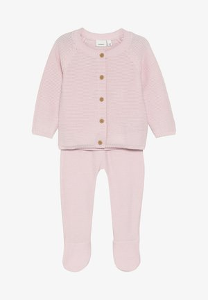 NBNNEVAN KNIT GIFTBOX - Kofta - barely pink