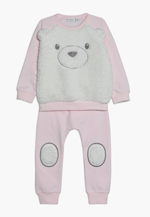 NBNNONO SET - Sweatshirt - barely pink