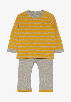 NBMNORH SET - Legging - golden orange