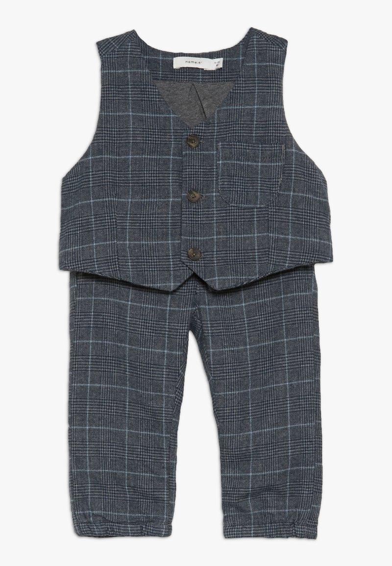Name it - NBMREIN PANT SET - Waistcoat - dusk blue