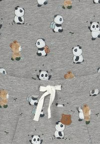 Name it - NBMTIPO  BODY SET - Pantalon classique - grey melange - 4