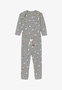 Name it - NBMTIPO  BODY SET - Pantalon classique - grey melange - 3