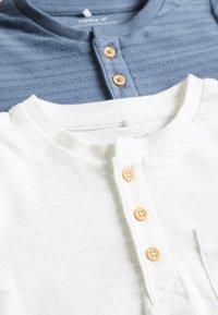 Name it - NBMFENGO GRANDAD 2 PACK - Camiseta de manga larga - china blue - 5