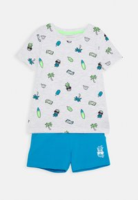 Name it - NMMJABO SHORTS SET - Trainingsbroek - hawaiian ocean - 0