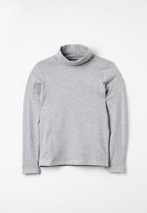 NKMVIGGO ROLLNECK MINI - Long sleeved top - grey melange