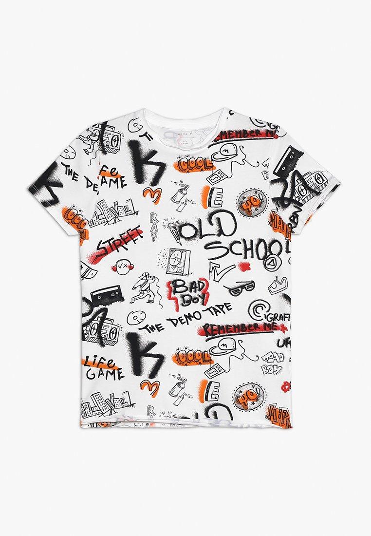 Name it - NKMBARANO - T-shirt imprimé - bright white