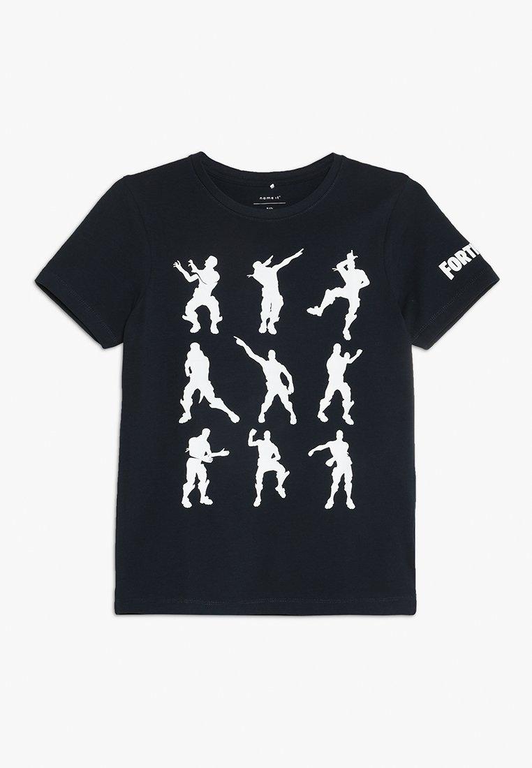 Name it - ALEX  - T-shirt con stampa - dark sapphire