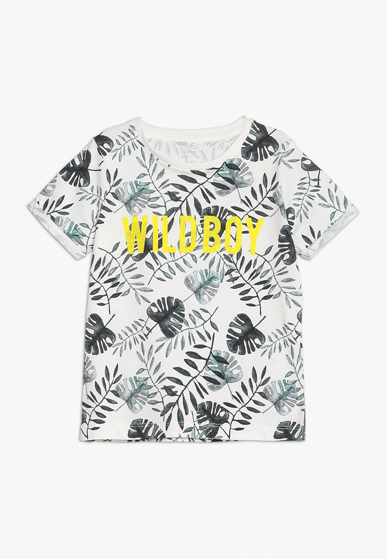Name it - NMMFACOOL MINI - T-shirt print - snow white