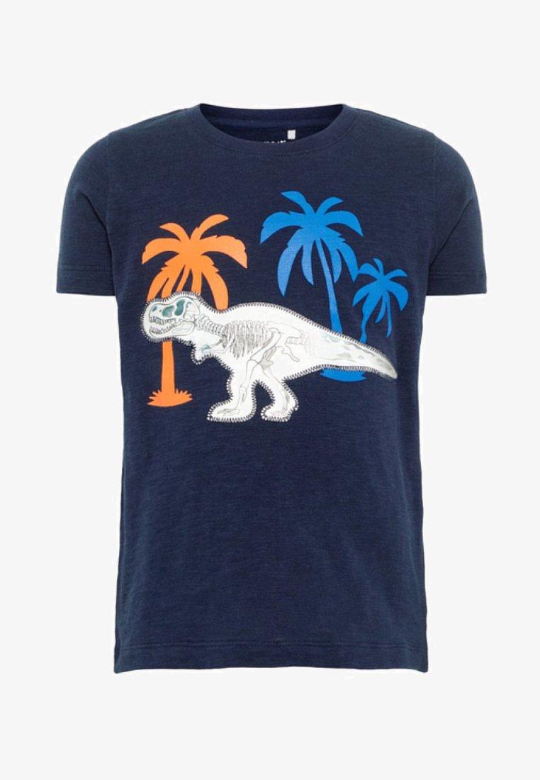 Name it - ELOI SS  - T-shirts print - dark blue