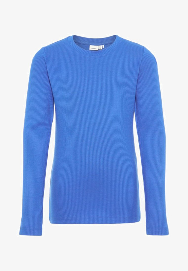 Name it - Langærmede T-shirts - strong blue
