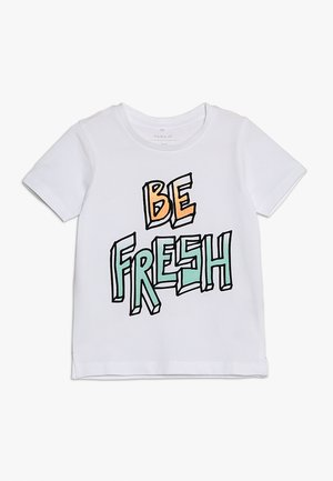 BOX - T-shirt print - bright white