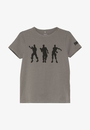 FORTNITE  - T-shirt con stampa - charcoal