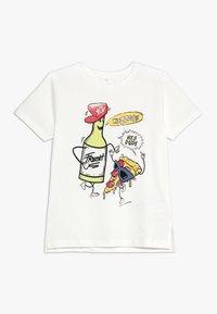 Name it - NMMKIMAL - T-shirt con stampa - snow white - 0