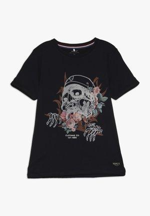 NKMHRUPKOTHA - T-shirt con stampa - dark sapphire